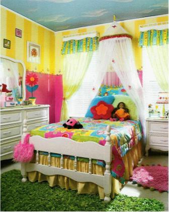 国外家庭儿童房设计装修趣味五想法