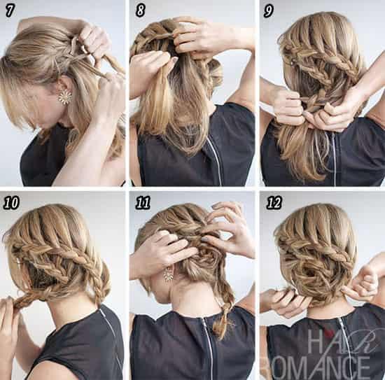 流行美最新新娘发型图解 优雅时尚超浪漫图片