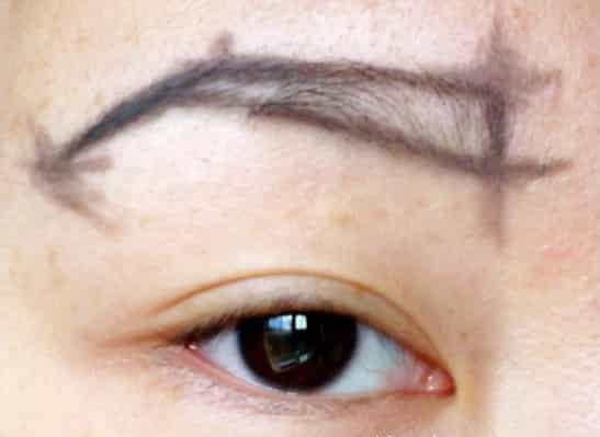 分享超详细修眉毛步骤图片