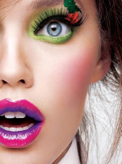 【三公主】个性时尚创意彩妆造型图片 呈现完美激情