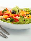 自制蔬菜沙拉减肥食谱 轻轻松松瘦出完美身型