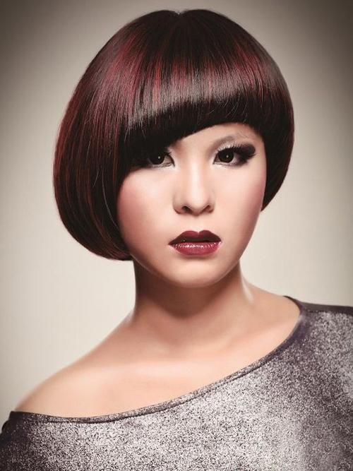 2014最新沙宣短发发型图片 变身个性小潮女-最新发型 最新短发发型图