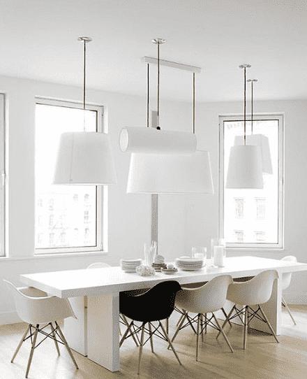 小户型厨房装修设计效果图 黑白配最温馨高清图片
