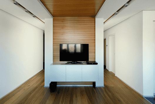 100平方房屋设计图 l形北欧风装修