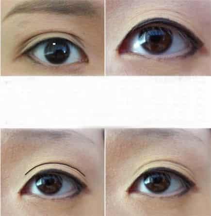 单眼皮怎么变双眼皮 教你眼线眼影的画法