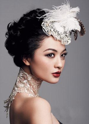 2014韩式新娘妆容图片 打造时尚靓丽美新娘图片