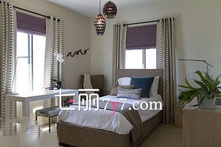 女孩卧室装修效果图 简约风格呈现奢品情怀