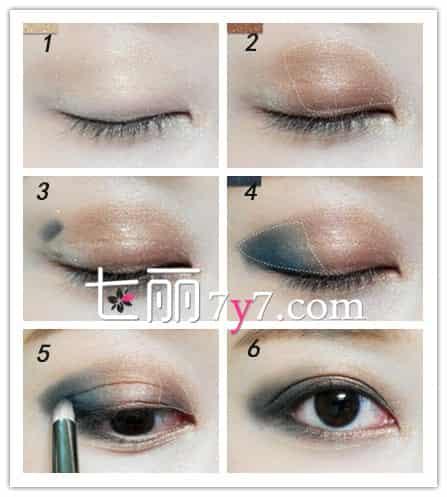 小烟熏妆的画法 日常也适用的妆容