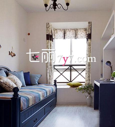飘窗装修效果图 迷你小空间也可独具一格
