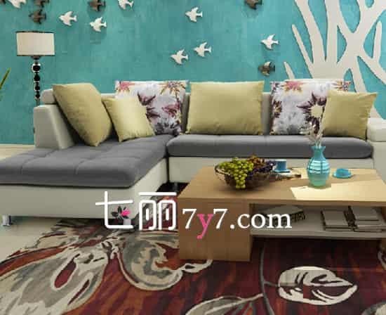 布艺沙发如何选购配色 让客厅视觉效果协调