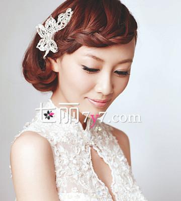盘点最美新娘发型 5款优雅浪漫的编发推荐图片