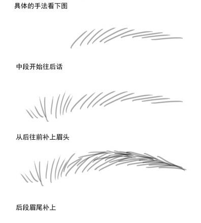 画眉教程 巧妙画眉技巧打造自然眉形