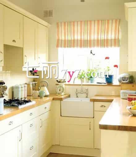 4㎡小户型厨房设计效果图 打造都市小清新高清图片
