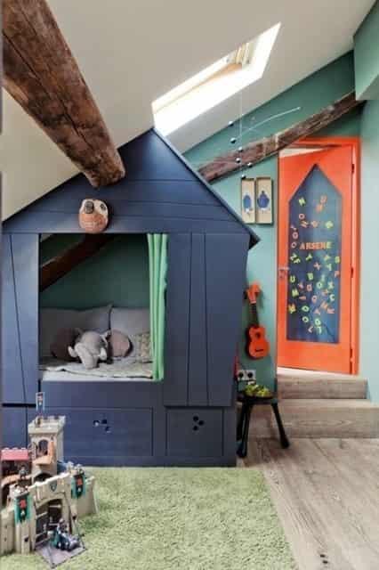 儿童房装修效果设计图