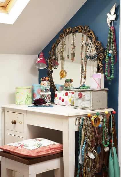 欧式梳妆台图片 扮靓整个卧室