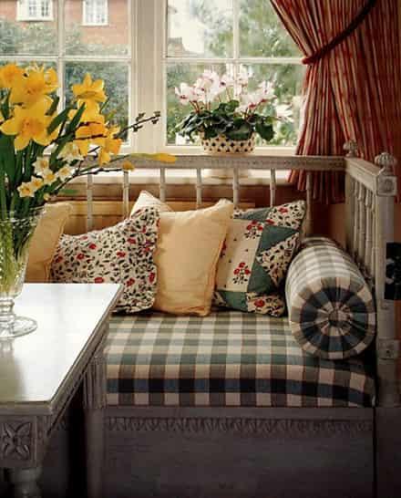 春夏来临,室内也要变成清新的风格,下面带来田园风室内装修高清图片