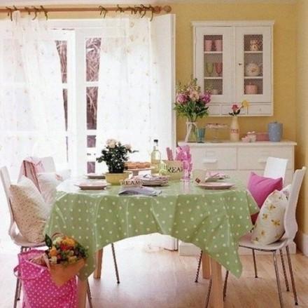 田园风室内装修效果图大全 客厅和卧室都春意盎然 (5)