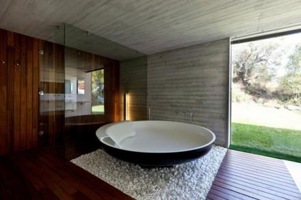 整體浴室裝修效果圖 簡約時尚盡顯豪宅范