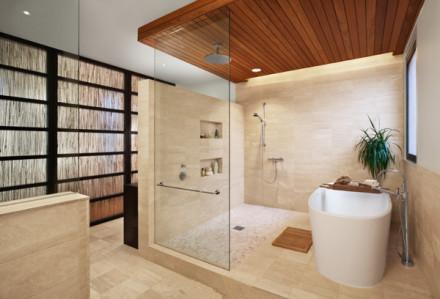 整体浴室装修效果图简约时尚尽显豪宅范