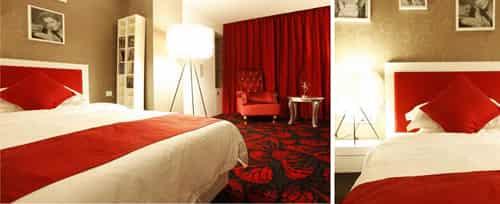 床头背景墙设计 床头花样多 (2)