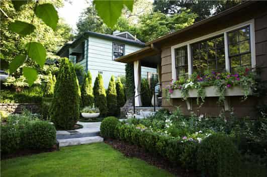 别墅入户花园设计图片 清新生活从源头开始