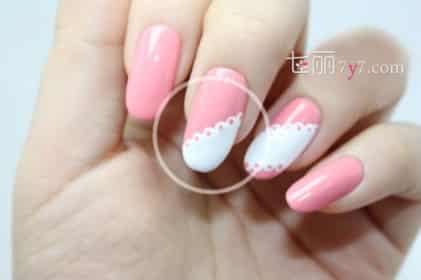 短指甲花纹图片