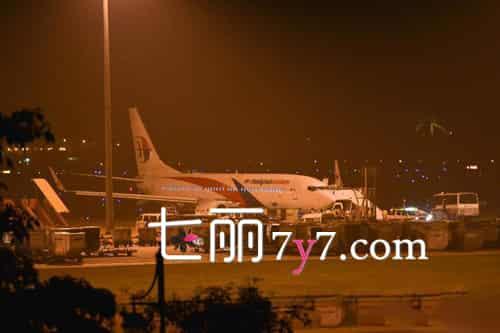 马航1架飞机半空前轮爆裂故障折返迫降 已安全降落吉隆坡