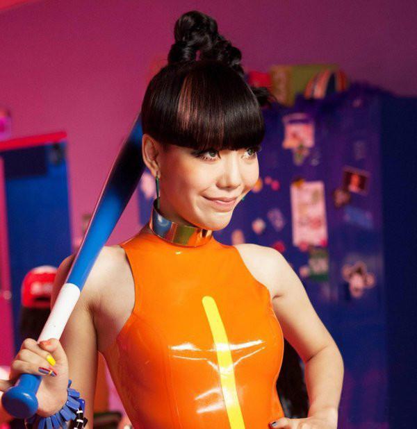 吴莫愁时尚创意彩妆图片 夸张玩色至尊造型