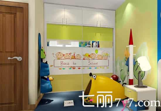 儿童房装修设计效果图
