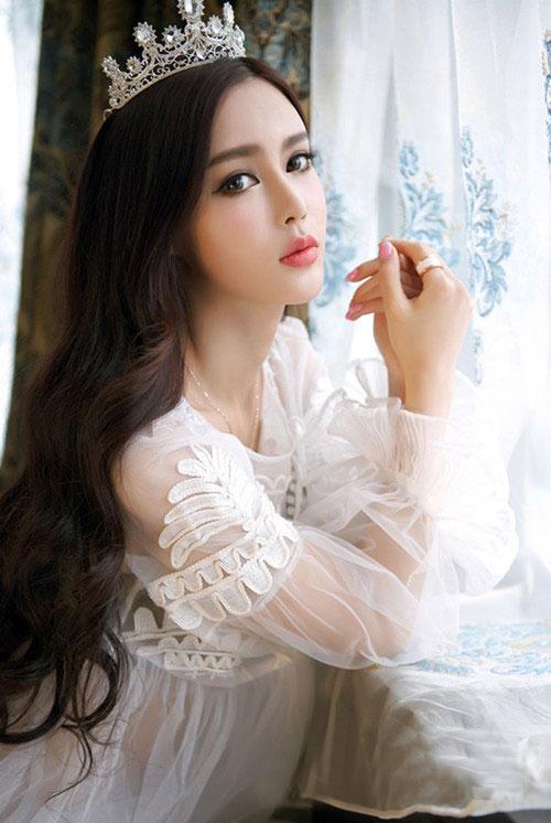 绝美气质清纯美女图片 可爱迷人公主风