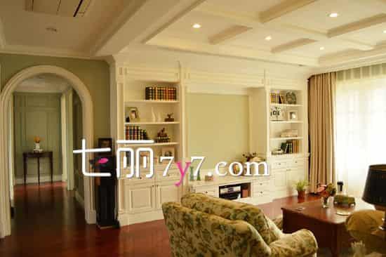 美式家居装修样板房效果图