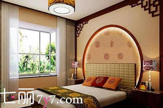 中式风格卧室装修效果图 古色古香韵味无穷