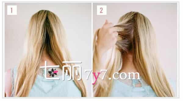 蜈蚣辫花环编发完成效果图  步骤一:首先将头发梳顺,把后半部分的头发平均分成两份。 步骤二:然后在距离发顶两公分处将余下的头发平均分成三小束。  步骤三:接着将三小束头发逆时针编织蜈蚣辫。 步骤四:编织好后,将编织的头发再顺时针的绕过脑门前继续编织。  步骤五:再将编织好的发辫用皮筋固定住,将发尾隐藏在相应结束的位置。 步骤六:用手把拉扯头发,让其看起来更加蓬松自然。  步骤七:最后这款简单的编发发型就搞定了,是不是看起来充满了超级梦幻的感觉,给人一种很是唯美浪漫的气息,想要在早秋走女神范的妹子千万不要