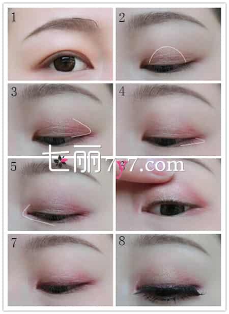 清新眼线的画法 简单眼妆最自然