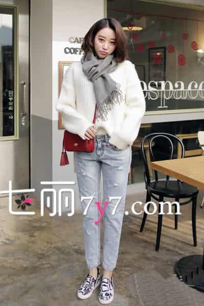 冬季广州美女最新街拍