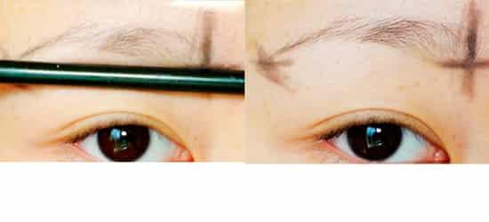 修眉毛的技巧图解法