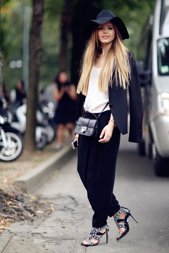 中性风格服装搭配图片-中性风格女生穿衣打扮,中性风格服装图片图片