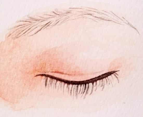 手绘眉毛的画法 手绘画眉毛的详细教程 (2)