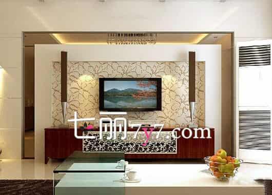 最流行的客厅电视背景墙效果图
