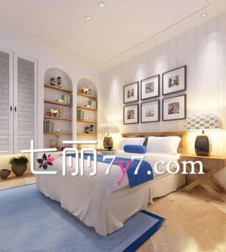 温馨小卧室装修设计效果图 每天让你都被美醒来 - 七