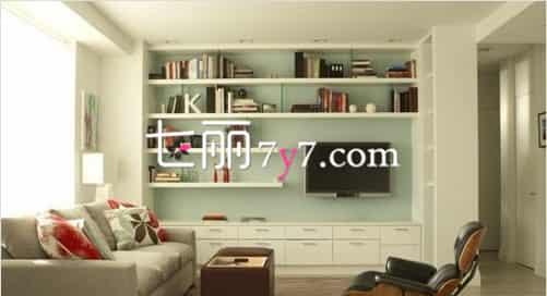 欧式客厅电视背景墙装修图
