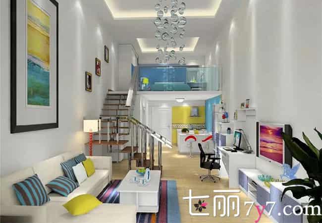 单身公寓装修效果图,单身公寓装修图片,单身公寓装修