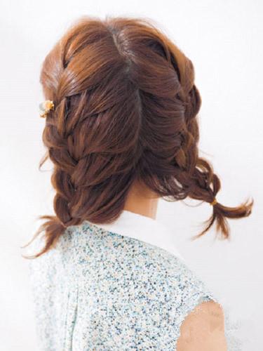 短发怎么扎双马尾好看 简单1分钟打造清新萝莉风 -短发怎么扎双马尾