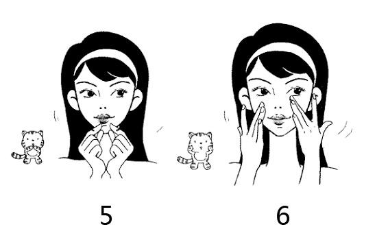 女性眼睛矢量图