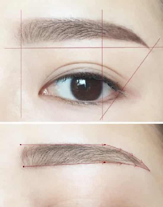 画眉毛-的画法步骤图解图片