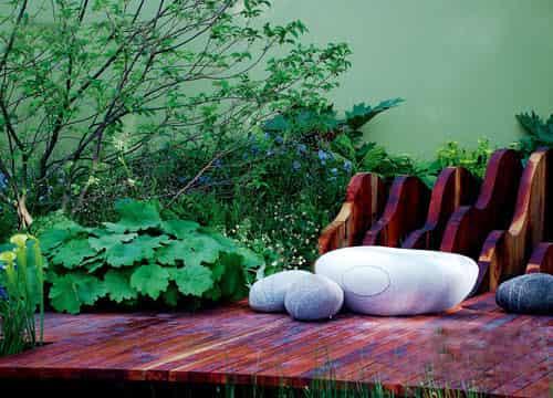 欧式家居装饰品 打造色彩花园洋房装修效果图给你惊喜