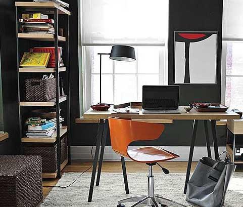 5款自制小书架摆放室内设计效果图 提升角落收纳法
