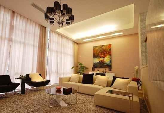 140平米现代欧式家居装修效果图大全