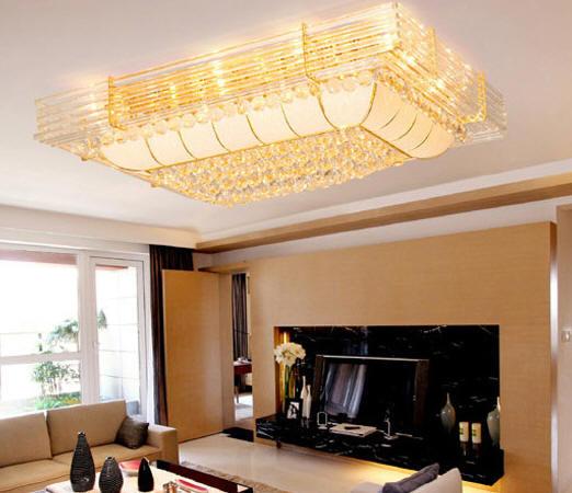 2011年流行客厅吊顶灯饰品装修效果图欣赏