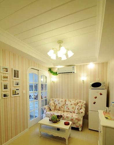 两室一厅小平米装修效果图 大展田园风魅力